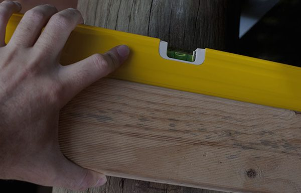 using levels in woodworking