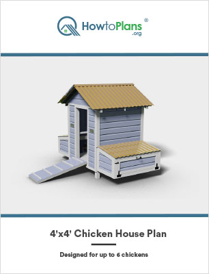 4x4 chicken house plan