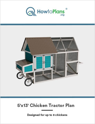5x13 chicken tractor plan