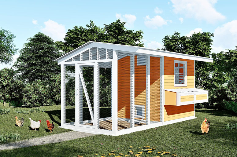 21 Free Chicken Coop Plans For Small Medium and Large Coops