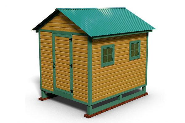 10x8 chicken house