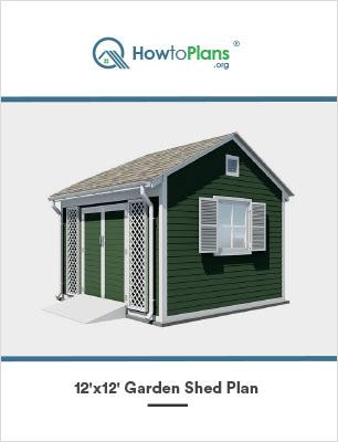 12x12 garden shed plan