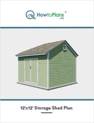 12x12 storage shed plan