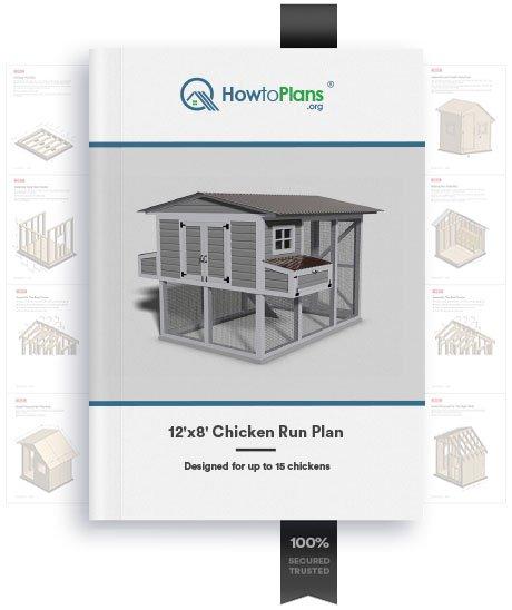 12x8 chicken run plan product