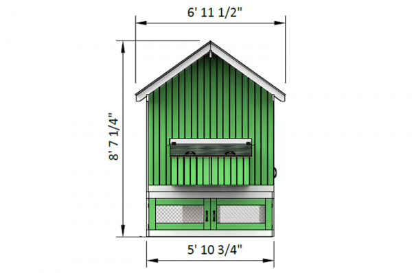 13x5 chicken run front side preview