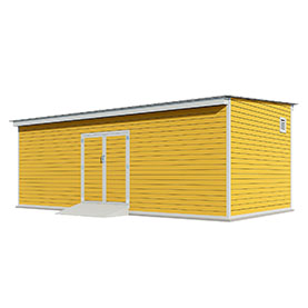 12x24 lean to storage shed