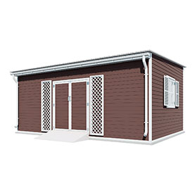14x20 lean to garden shed