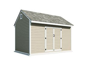 10x10 gable storage shed