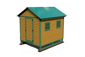 10x8 hen house