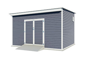 12x14 lean to storage shed
