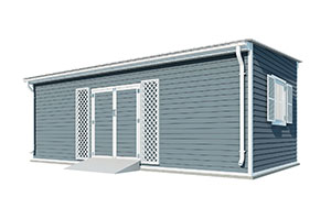 12x24 lean to garden shed