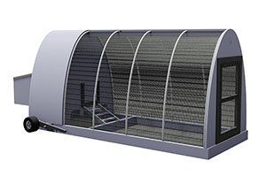 4x12 chicken tractor for 10 chickens
