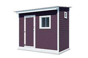 6x10 lean to storage shed