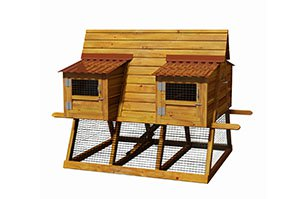 7x6 a frame chicken coop for 6 chickens