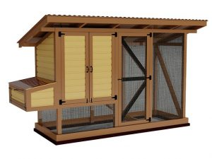 4x12 walk in chicken coop