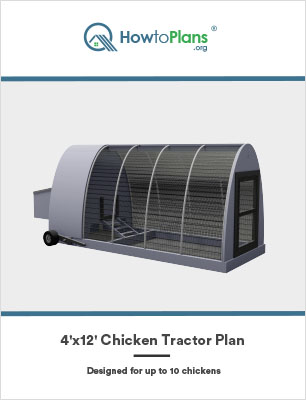 4x12 chicken tractor plan