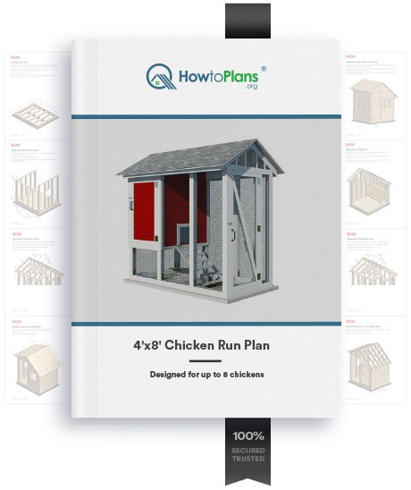 4x8 chicken run plan product