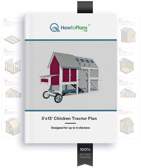 5x13 chicken tractor plan product