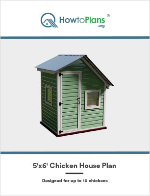 5x6 chicken house plan