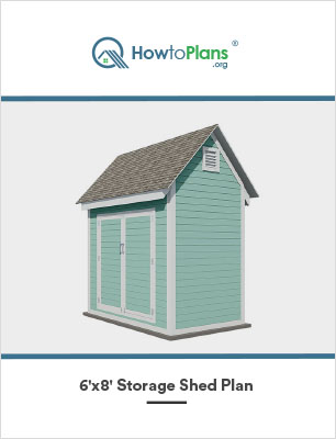 6x8 storage shed plan