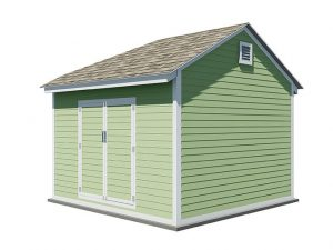 12x12 gable storage shed