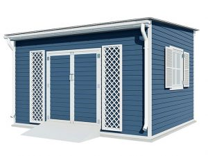 12x14 lean to garden shed