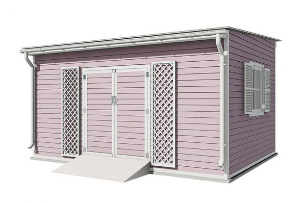 12x16 lean to garden shed