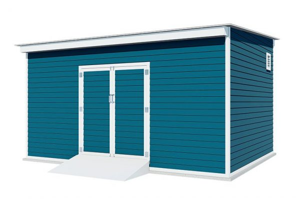 12x16 lean to storage shed