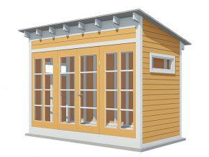 12x6 gable garden shed
