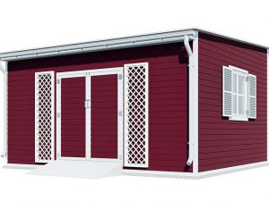 14x16 lean to garden shed