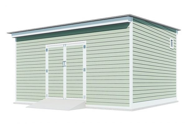 14x16 lean to storage shed