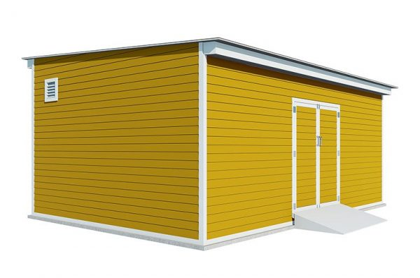 14x20 lean to storage shed