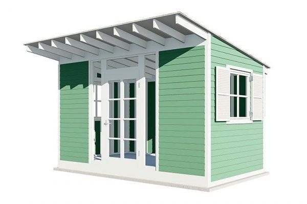 14x8 gable garden shed