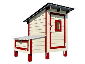 4x3 chicken coop