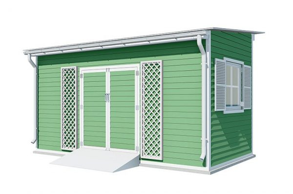 8x16 lean to garden shed