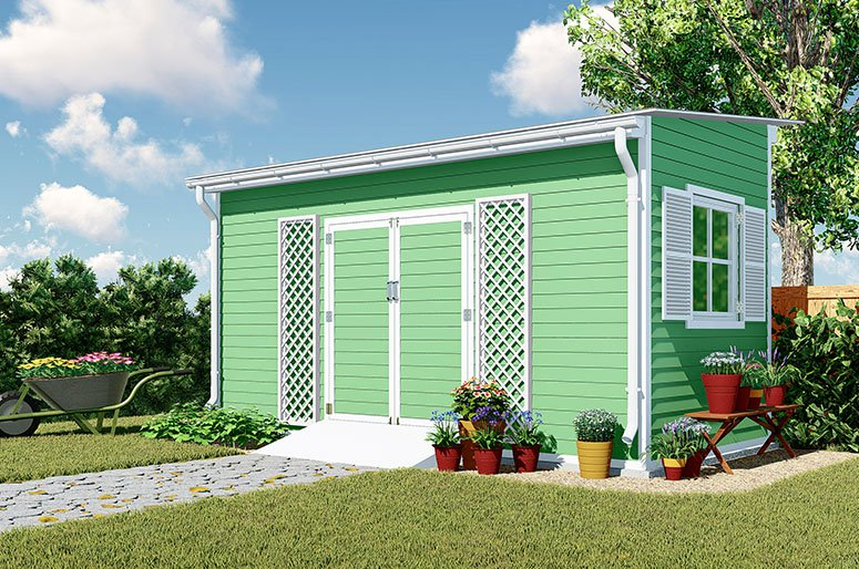 grow master 8x16 lean to roof garden shed plan howtoplans org