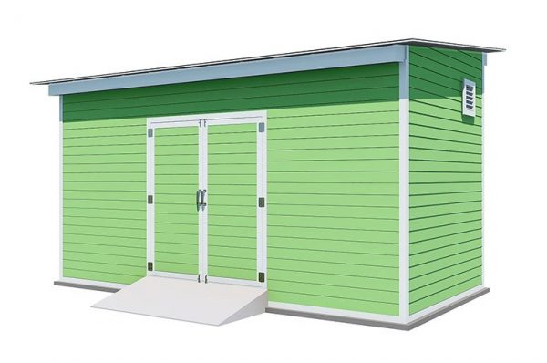 8x16 lean to storage shed