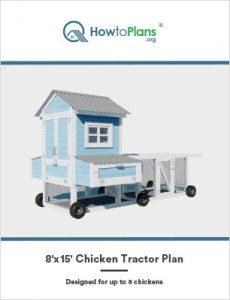 8x15 chicken tractor plan