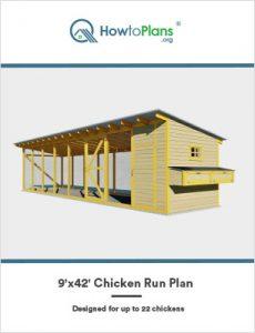 9x42 chicken run plan