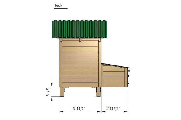 4x3 chicken house back side preview